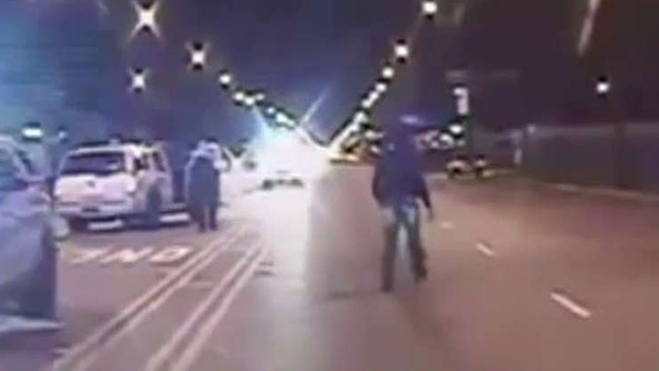 Chicago police release video of cop shooting teenager
