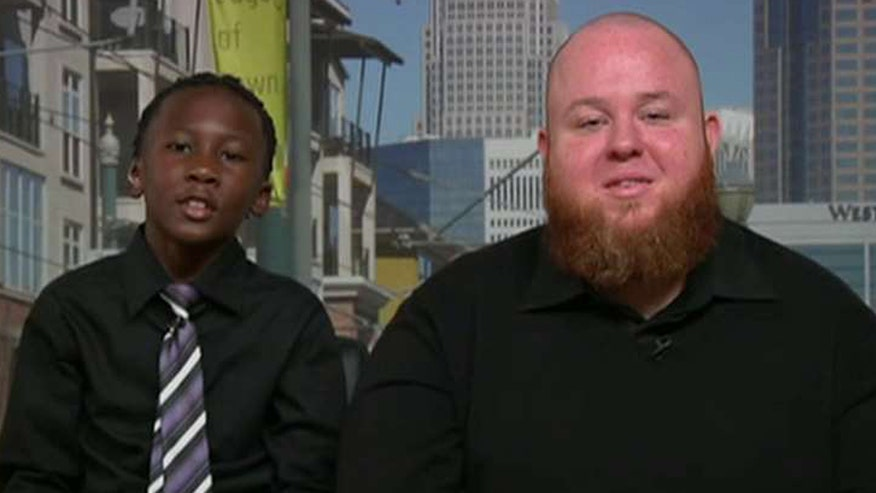 On 'Fox & Friends,' the 9-year-old who met his barber's challenge