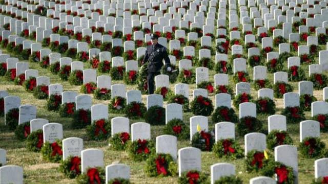 Wreaths Across America at risk of shortfall for Arlington
