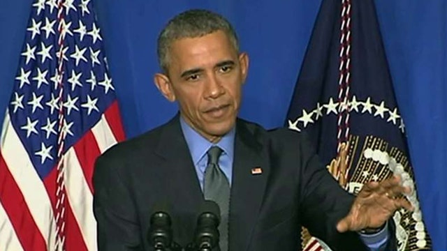 President Obama defends ISIS strategy, global climate deal