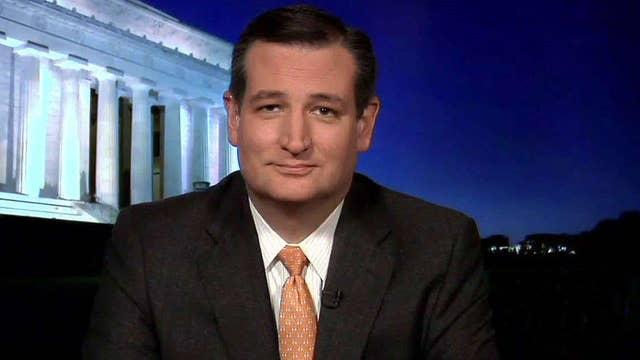 Cruz focuses on 'positive, optimistic, conservative message'