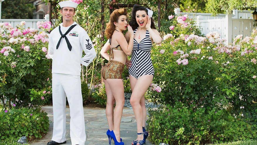 In the Zone: Pin-Ups for Vets founder Gina Elise and Navy Veteran Jennifer Marshall speak about bringing joy to hospitalized service members
