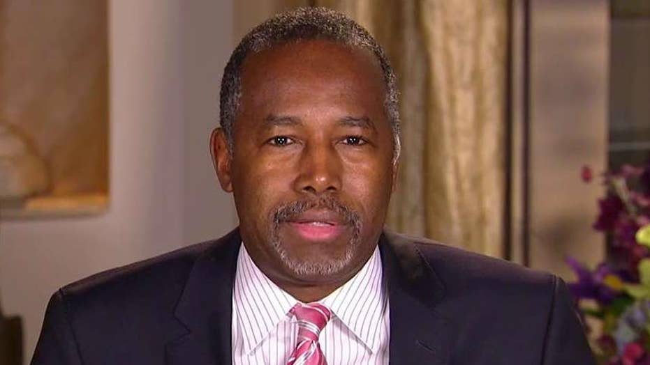 Dr. Ben Carson opens up about his trip to Jordan