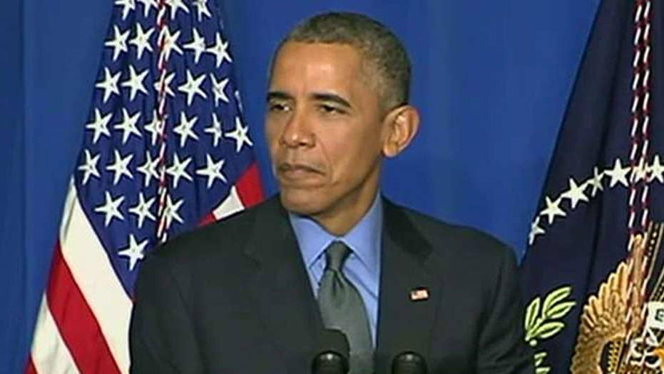 Obama defends ISIS strategy on world stage