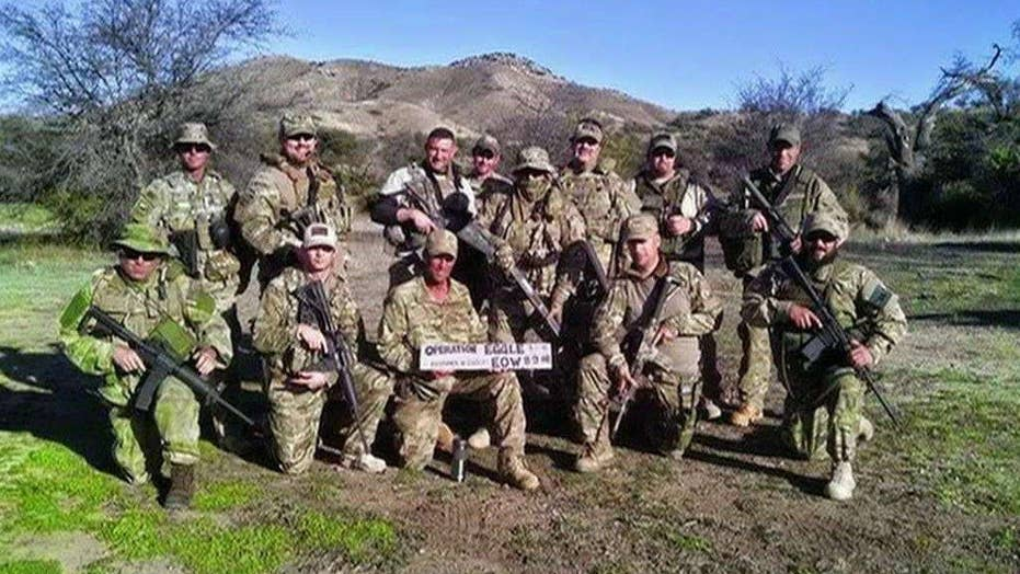 Group of veterans patrol border for terrorists
