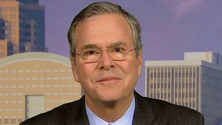 Jeb Bush on new polls, report his donors are worried