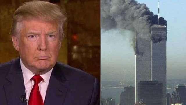 Donald Trump on 9/11 claims