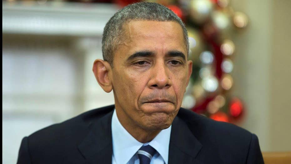 Obama: Thoughts and prayers are with San Bernardino victims