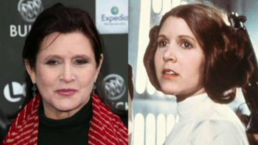 Carrie Fisher pressured to shed pounds for return to 'Star Wars' role