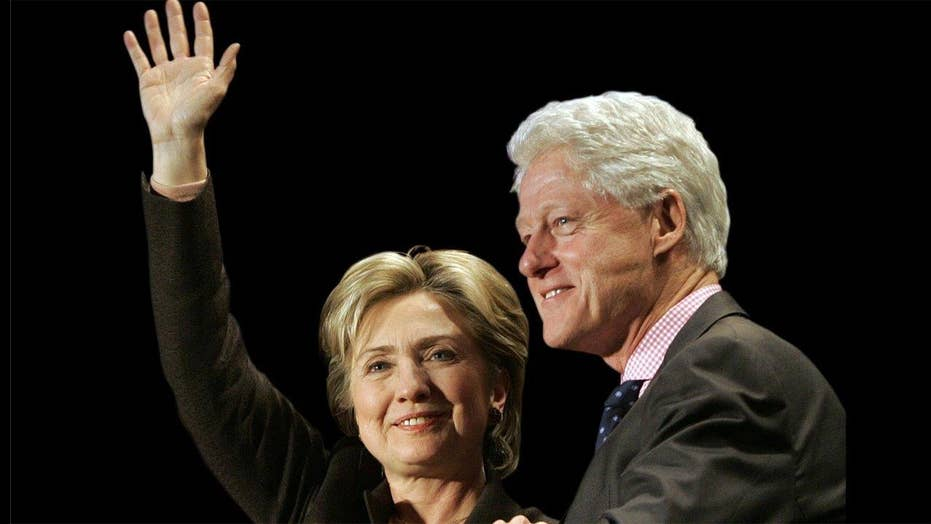 Hillary faces ghosts of husband's past on campaign trail