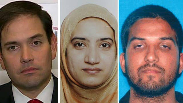 Rubio: No amount of vetting would've stopped Calif. shooters