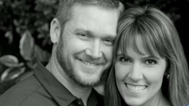 Chris Kyle's widow competes to raise money for charity