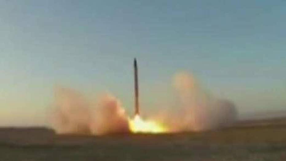 Iran tests new medium-range ballistic missile