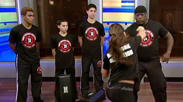 Self-defense moves your teens must know