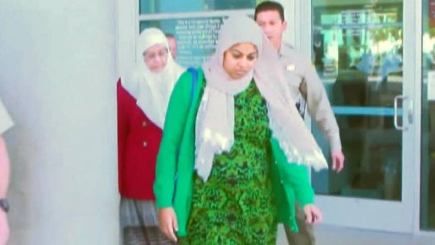 Farook's sister and mother attend custody hearing