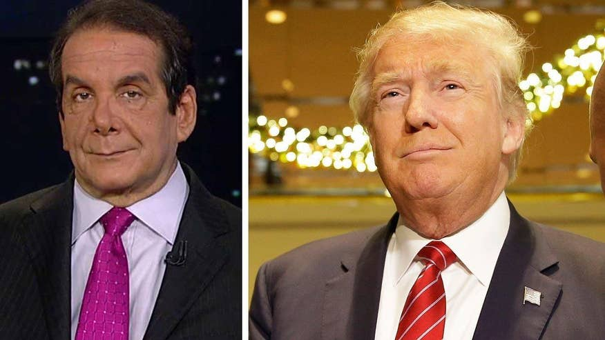 Krauthammer on a possible Trump third party run: 'his ego...would restrain him from running'