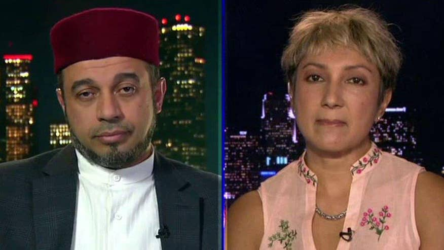 Imam and Islamic activist debate the issue on 'Hannity'