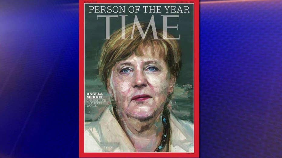 Angela Merkel is Time magazine's 'Person of the Year'