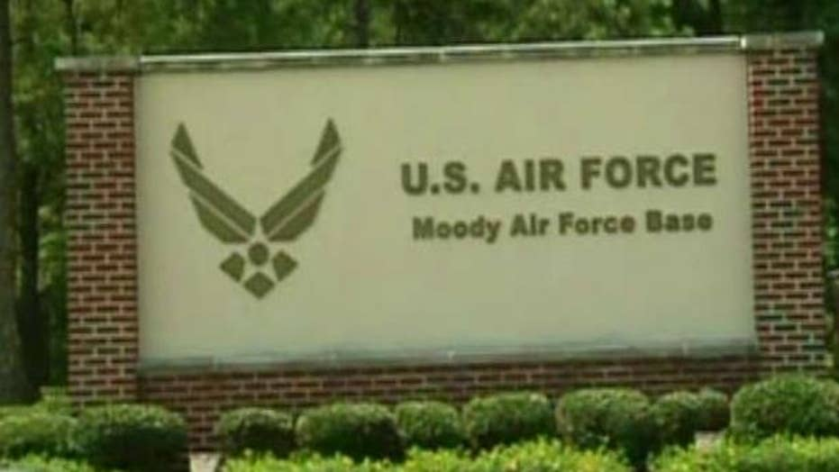 Two Afghan trainees missing from Georgia Air Force base