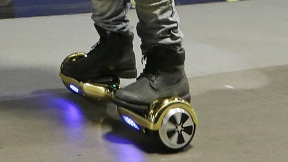 Three airlines ban hoverboards due to fire hazard