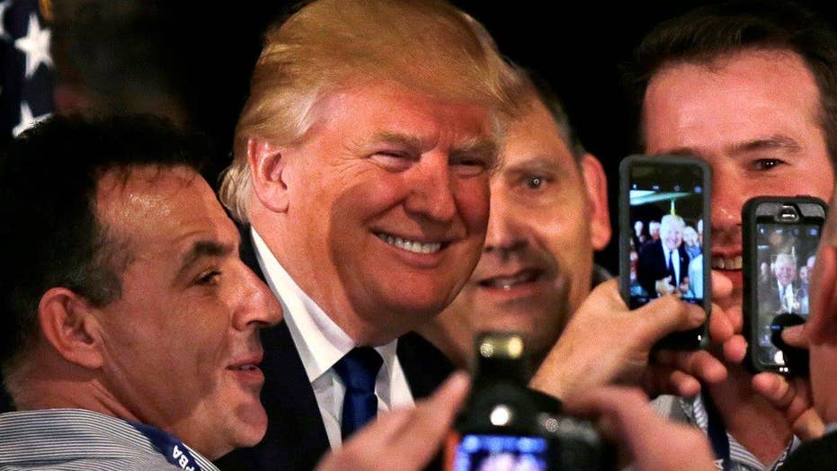 Media spotlight on Trump leaves GOP rivals frustrated