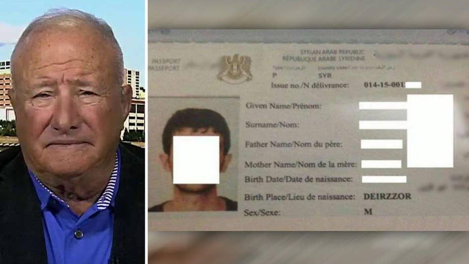 Former FBI official: Fake Syrian passports a concern