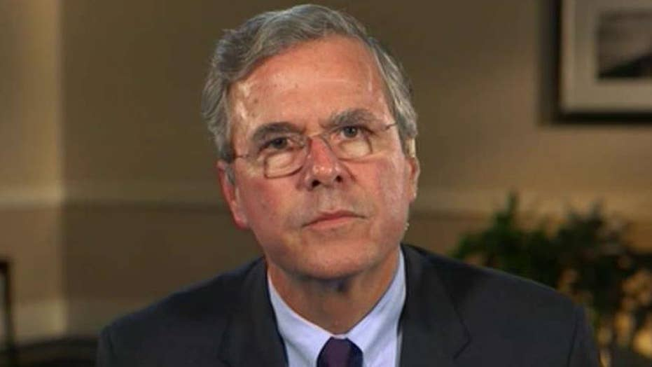 Jeb Bush's strategy for protecting the homeland