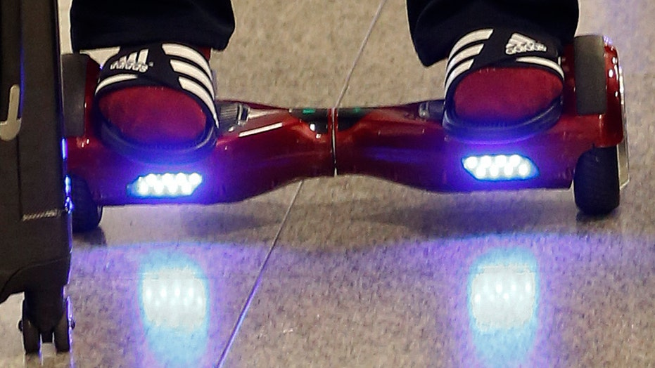 How dangerous are 'hoverboard' scooters?