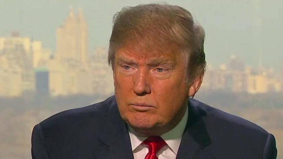 Donald Trump responds to his critics