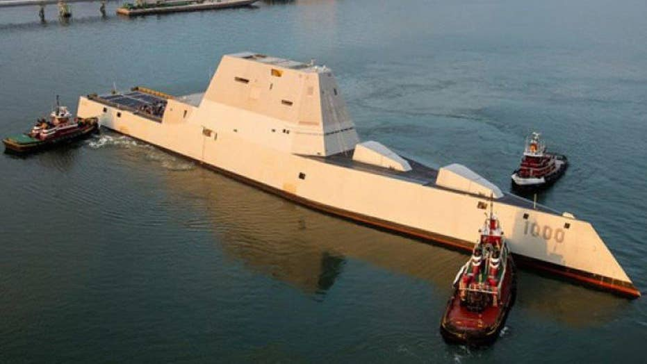 New US Navy Destroyer saves fisherman off Maine coast
