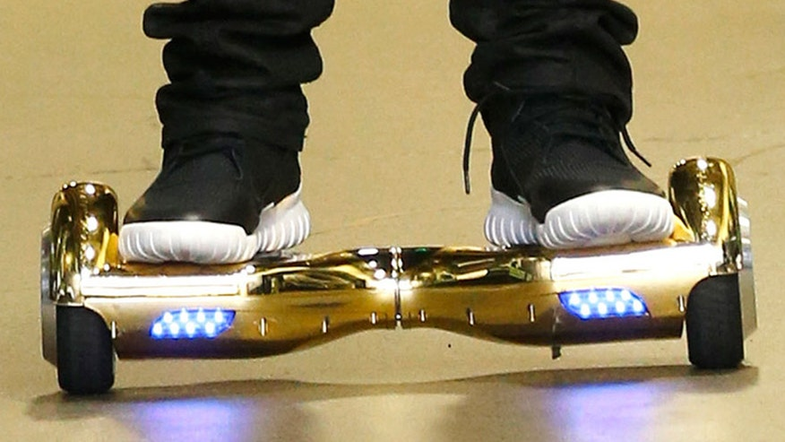Certain hoverboards pulled from Amazon for fire hazard concerns