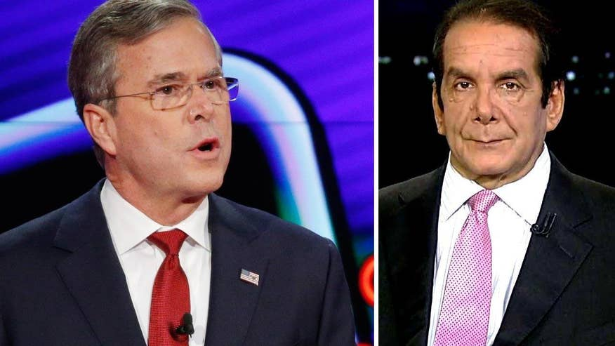 "'I think that ship has sailed,"" the syndicated columnist and Fox News contributor said. ""I'm happy to see Jeb stand up and get tough. I think he's had a really tough campaign. I don't think it's going to move the needle one iota.'"