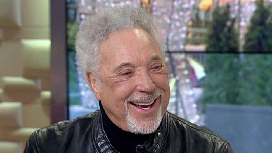 Tom Jones opens up about memoir 'Over the Top and Back'