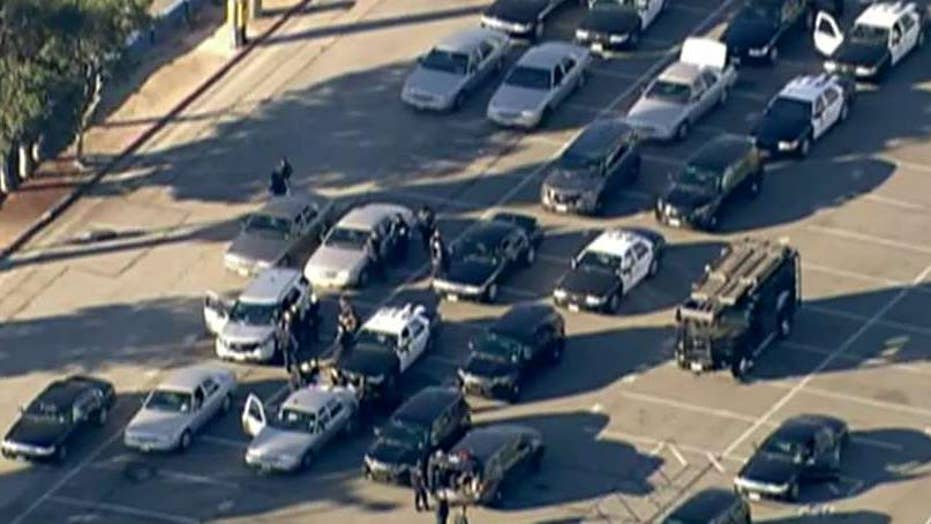 Did LA officials have the right response to school threat?