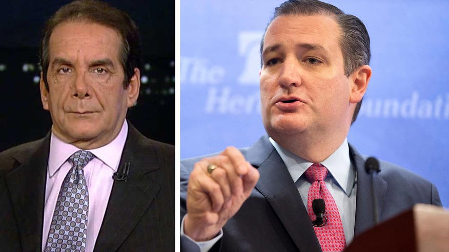 "Krauthammer on Ted Cruz' Immigration Stance: ""it depends on how you define amnesty"""