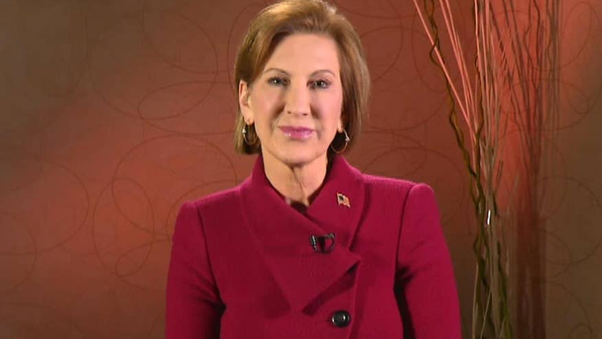 GOP presidential candidate Carly Fiorina outlines how she would enlist the private sector, social media and technology companies in the war against ISIS and terror