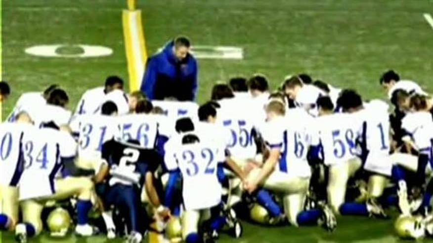 School district refused to let Joe Kennedy silently pray alone on field; Insight on 'The Kelly File'