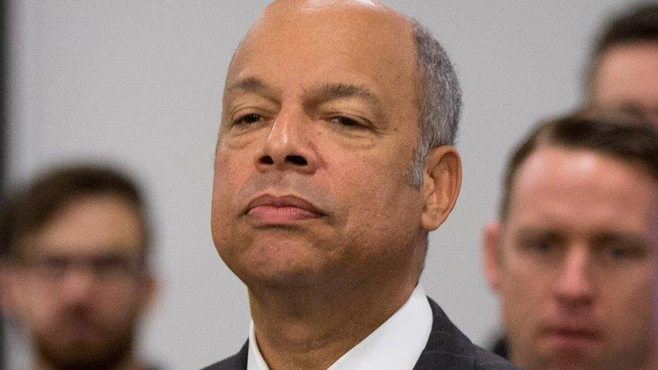 DHS Sec'y Johnson: ISIS wants to infiltrate refugee system