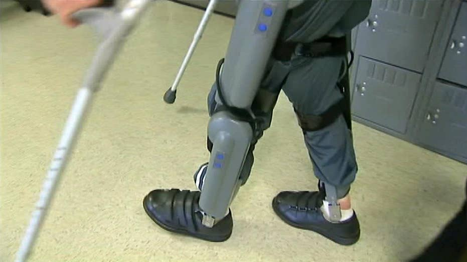Veterans Affairs to pay for robotic legs for paralyzed vets