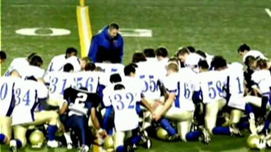 Coach suing school for religious discrimination speaks out