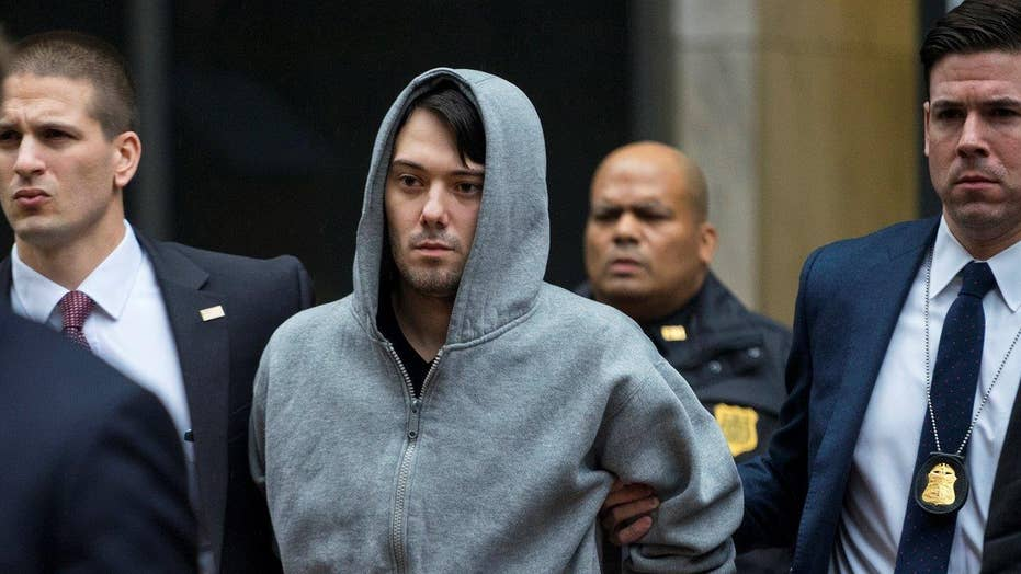 Notorious pharma CEO Shkreli arrested on fraud charges