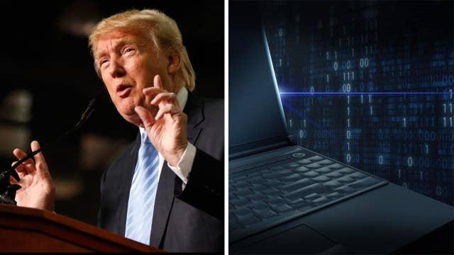 Trump wants web crackdown