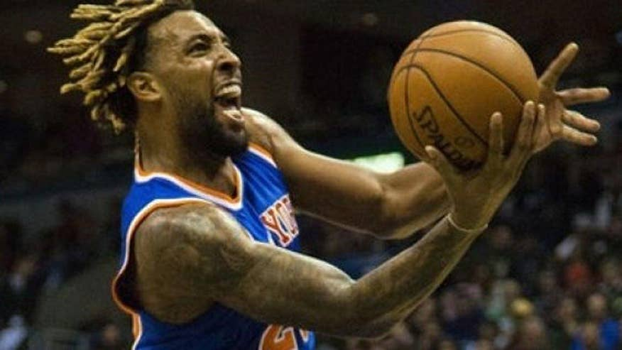 New York Knicks forward Derrick Williams accuses two women of stealing thousands in jewelery after a night of partying