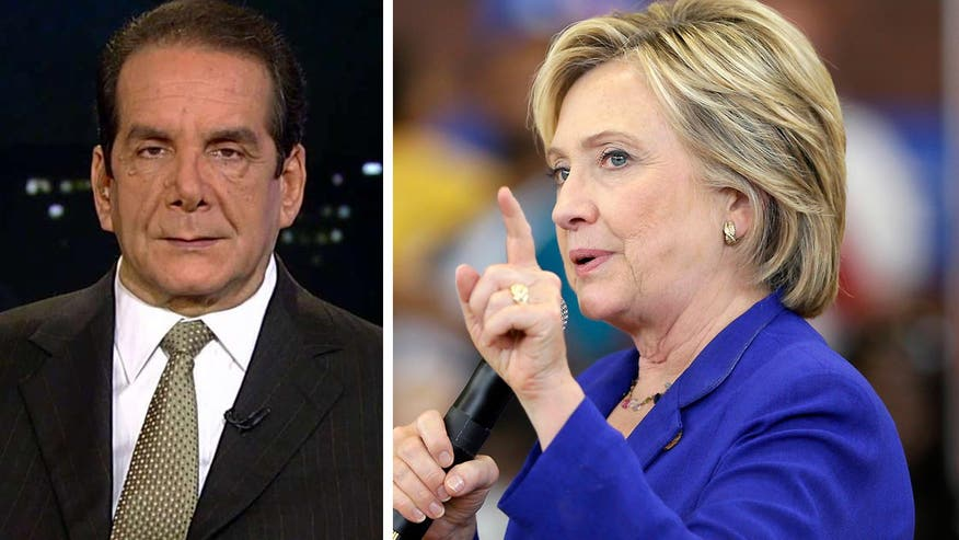 Charles Krauthammer says Hillary needs to stay away from references to incendiary videos since it didn't work out so well for her the first time in Benghazzi.