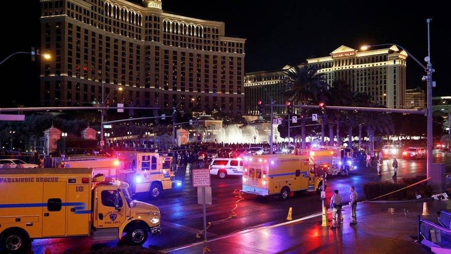 1 dead, dozens hurt after car drives on Las Vegas sidewalk