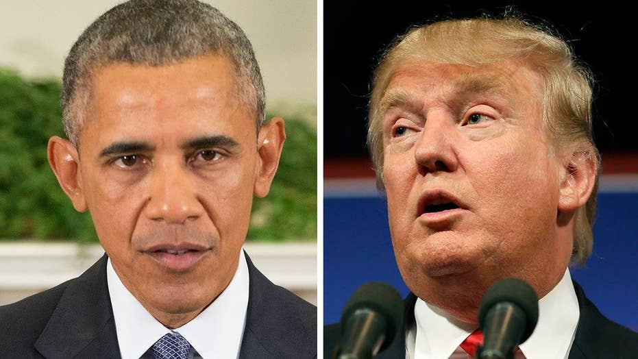 Did President Obama play the race card against Donald Trump?