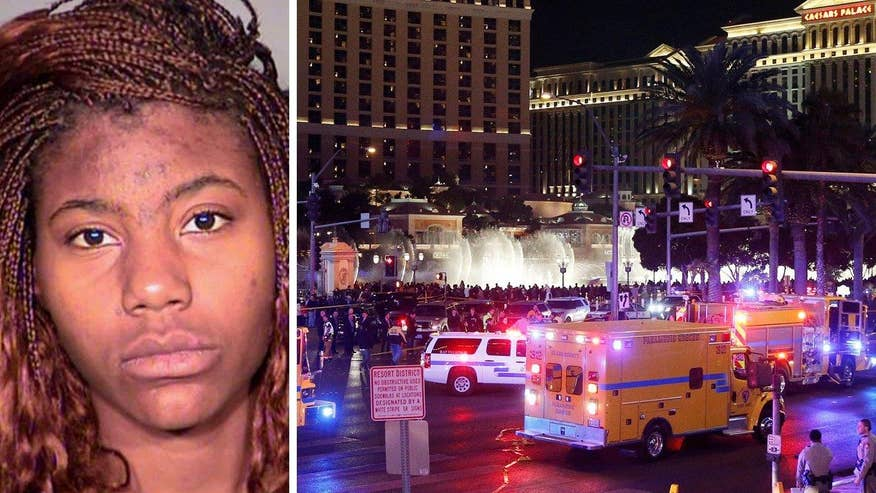Police believe Lakeisha Holloway intentionally drove her car into a crowd on the Vegas strip, killing one and injuring 37