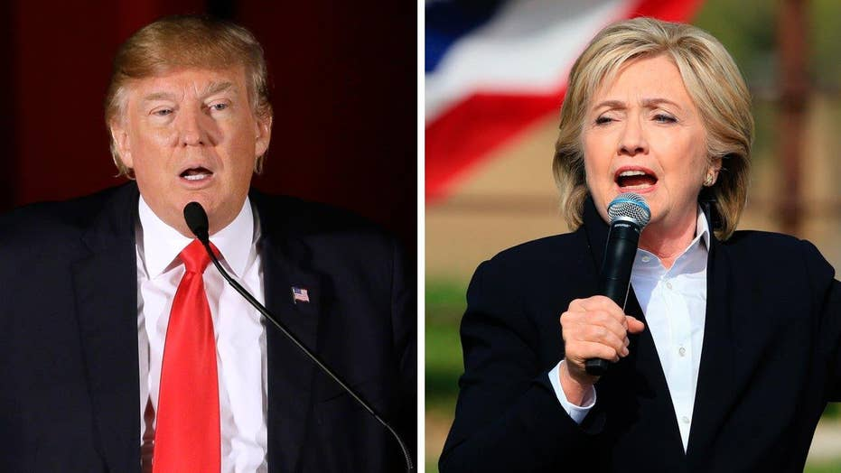 Trump goes on the attack against Hillary Clinton