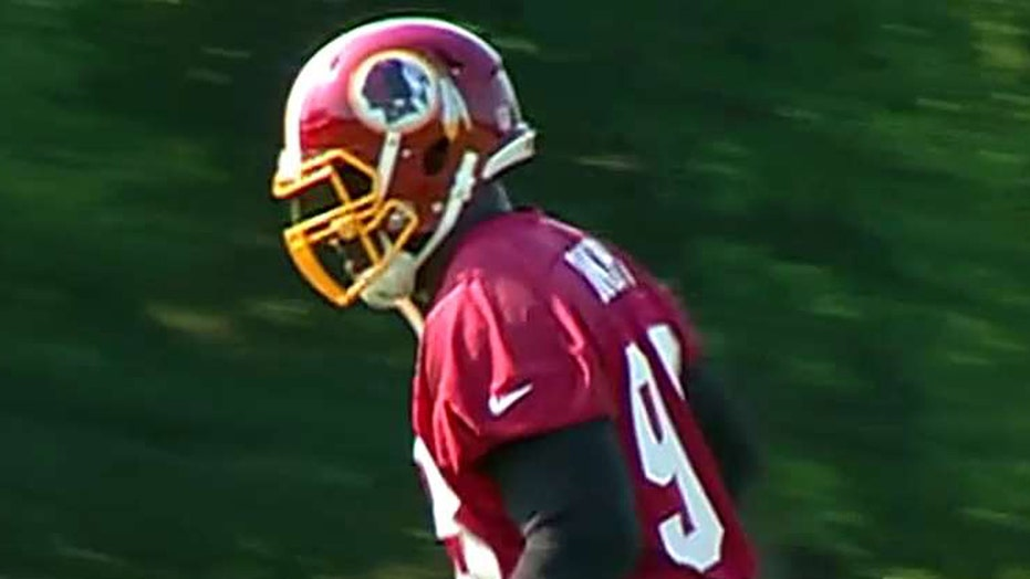 Federal circuit court overturns ban on Redskins trademark