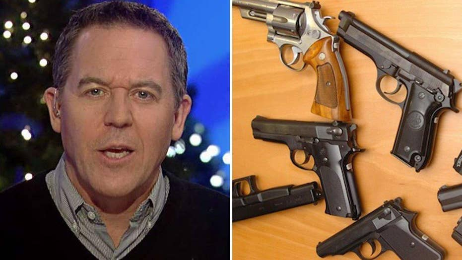 Gutfeld: Surge in gun sales a sign of the times